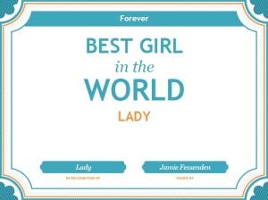 Best Girl in the World